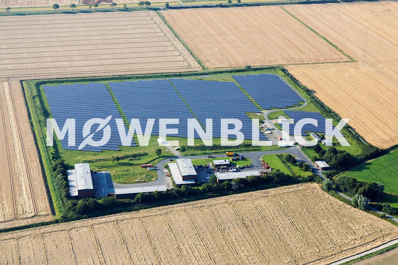 Solarpark Luftbild