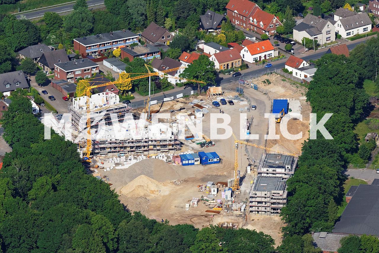 Hubschrauberlandeplatz Kaserne Luftbild