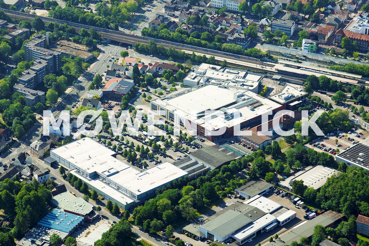 Jute Center Luftbild