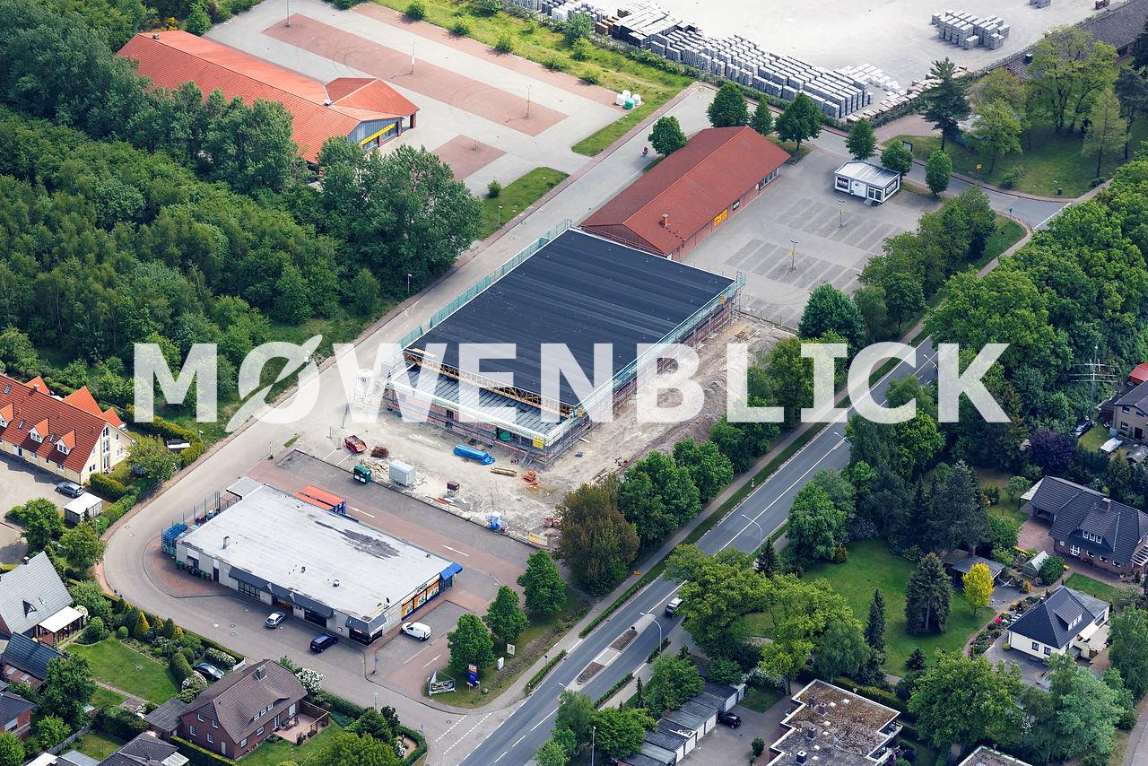 Neubau Netto Wardenburg Luftbild