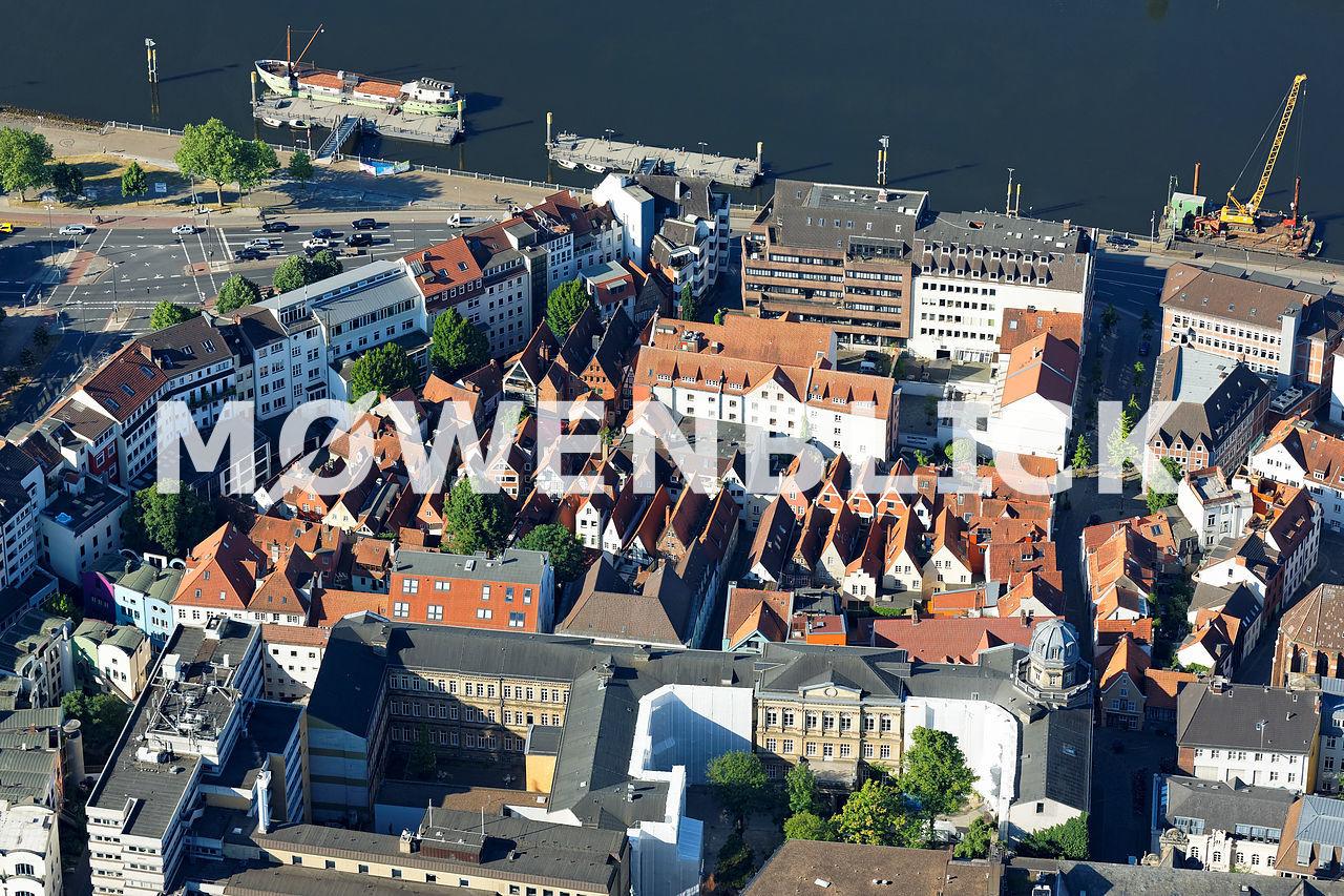 Schnoor Kolpingstraße Luftbild