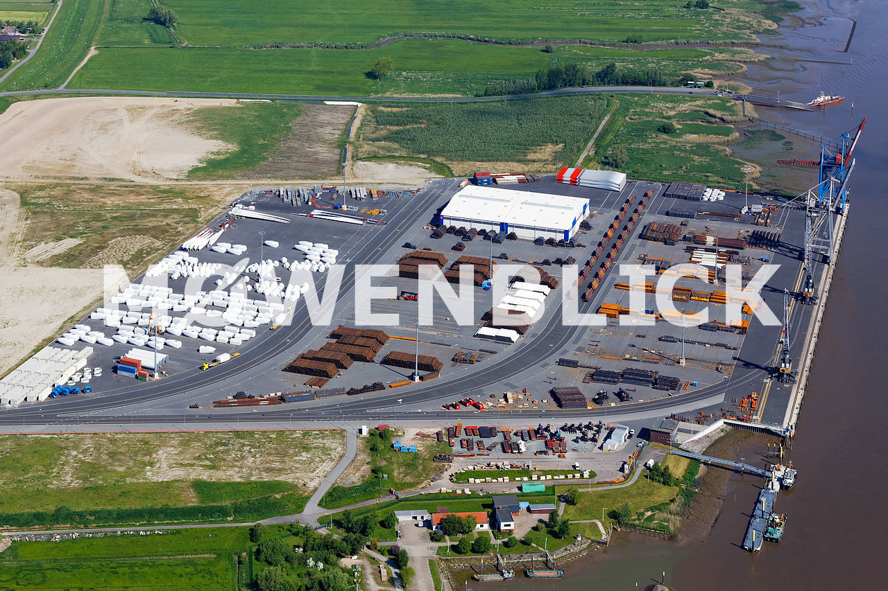 Neuer Hafen Luftbild