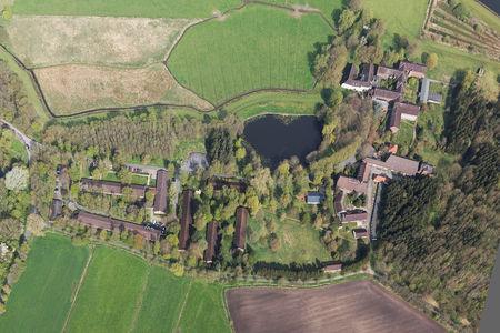 Kloster Blankenburg Senkrechtaufnahme