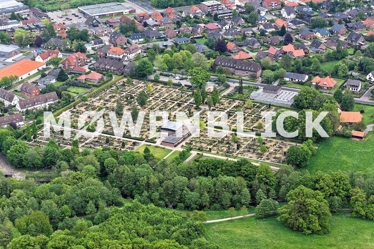 Friedhof Luftbild
