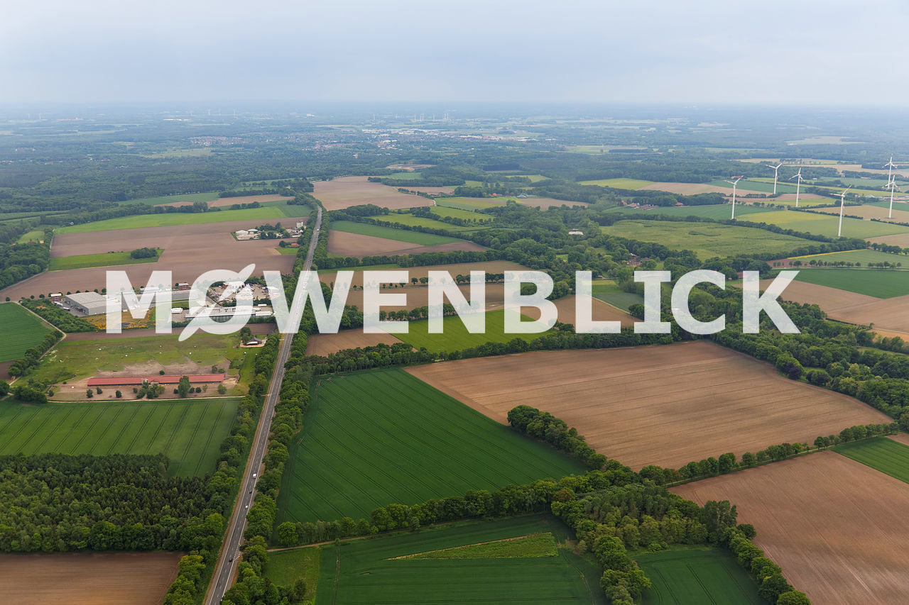 Gewerbegebiet Hockensberg Luftbild