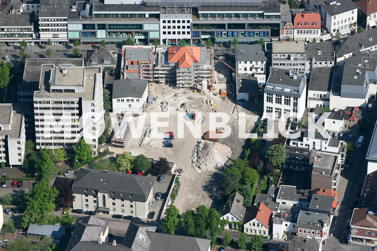 Baustelle Heiligengeisthöfe Luftbild