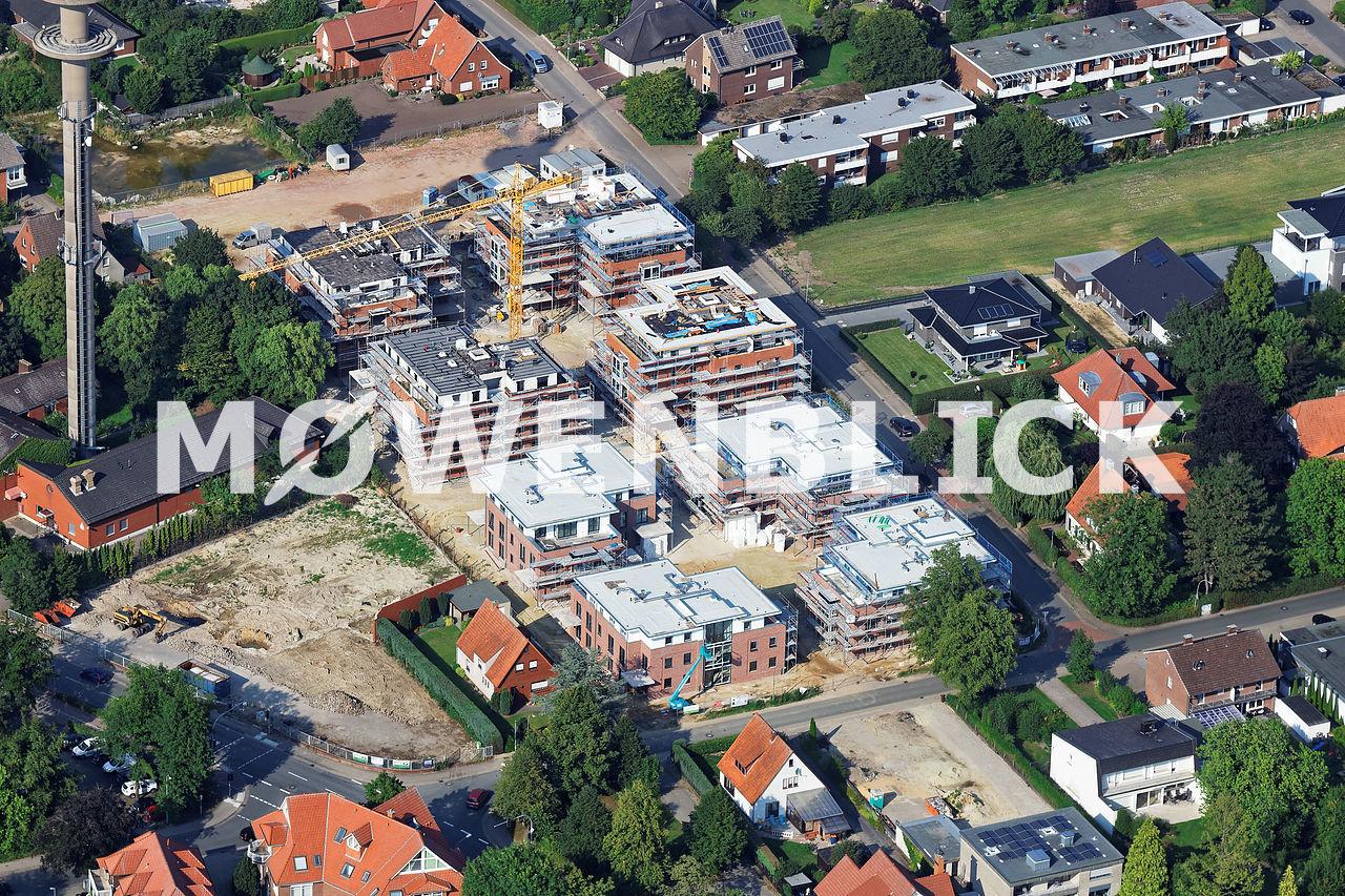 Neubau Kampgartenweg Luftbild