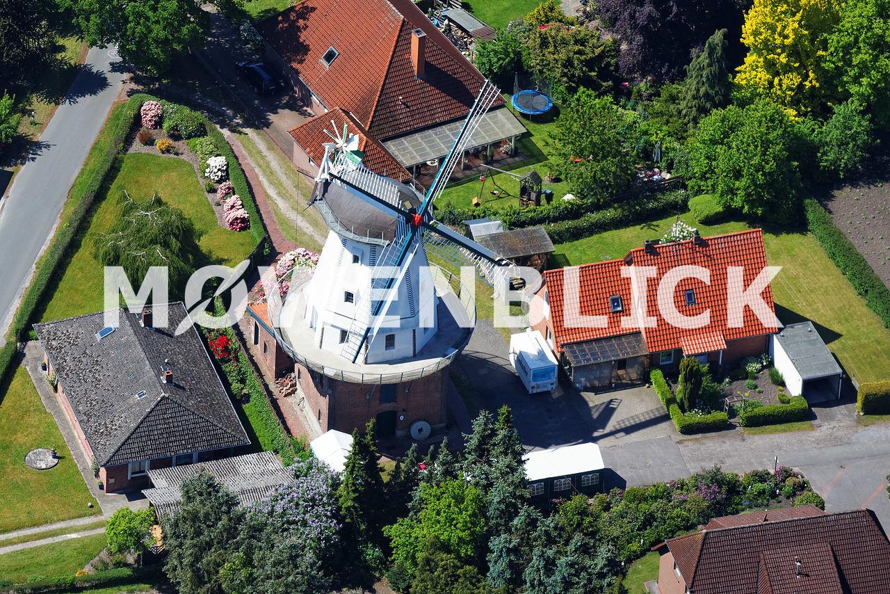 Windmühle Ekern Luftbild