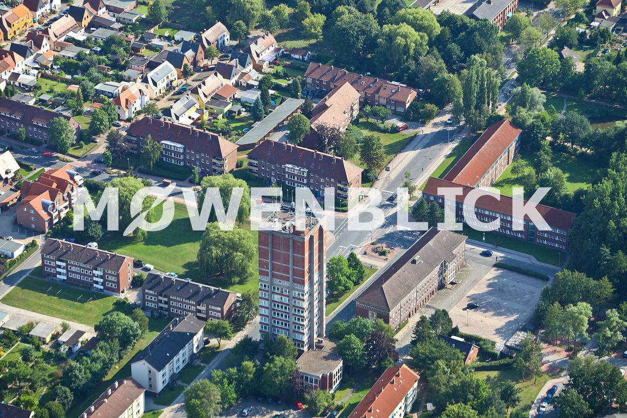 Rathausturm Luftbild