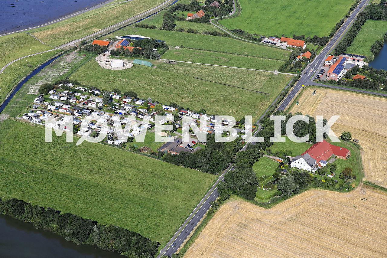 Ostbense Luftbild