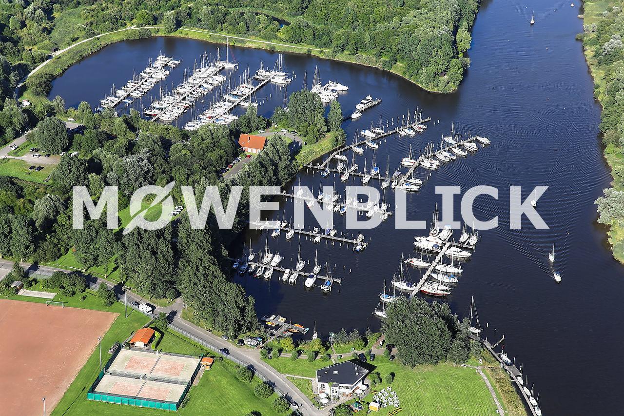 Marina Hooksiel Luftbild