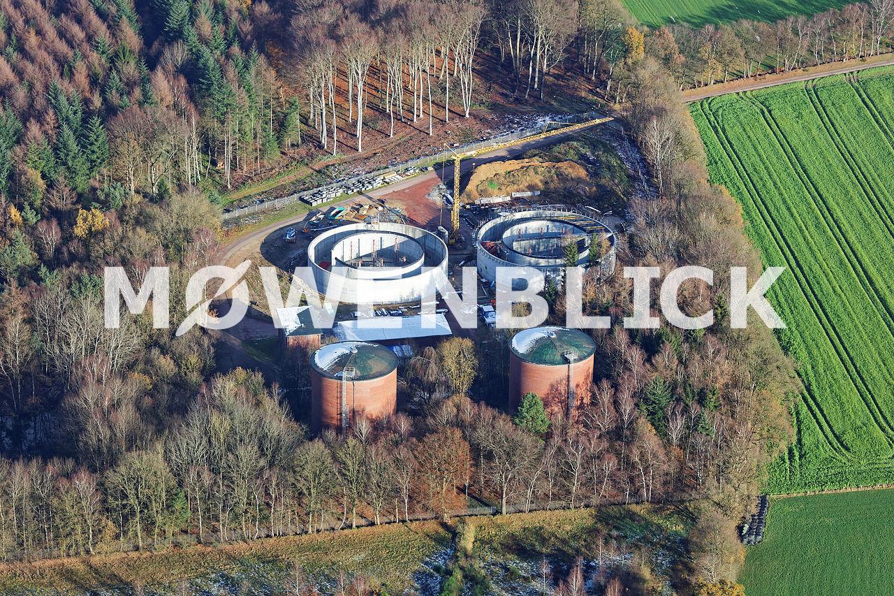 Druckerhöhungswerk Havekost Luftbild
