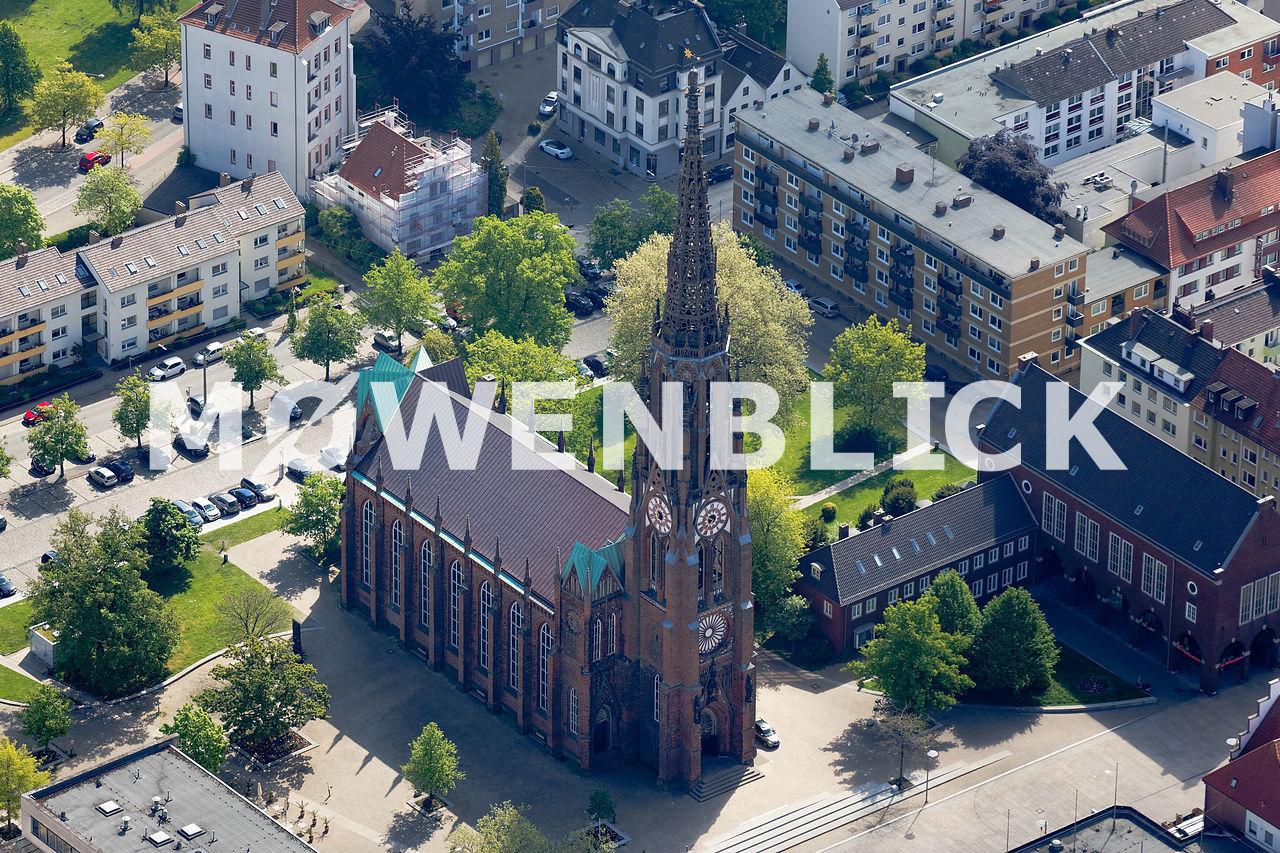 Bürgermeister-Smidt-Gedächtniskirche Luftbild