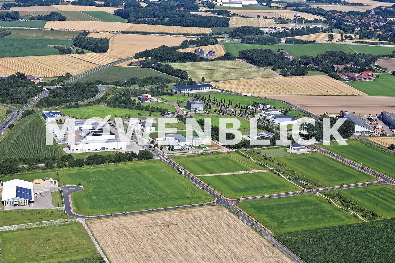 Ecoparc Luftbild Luftbild