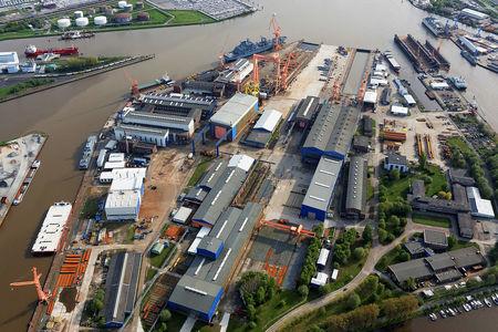 Emder Nordseewerke Luftfoto