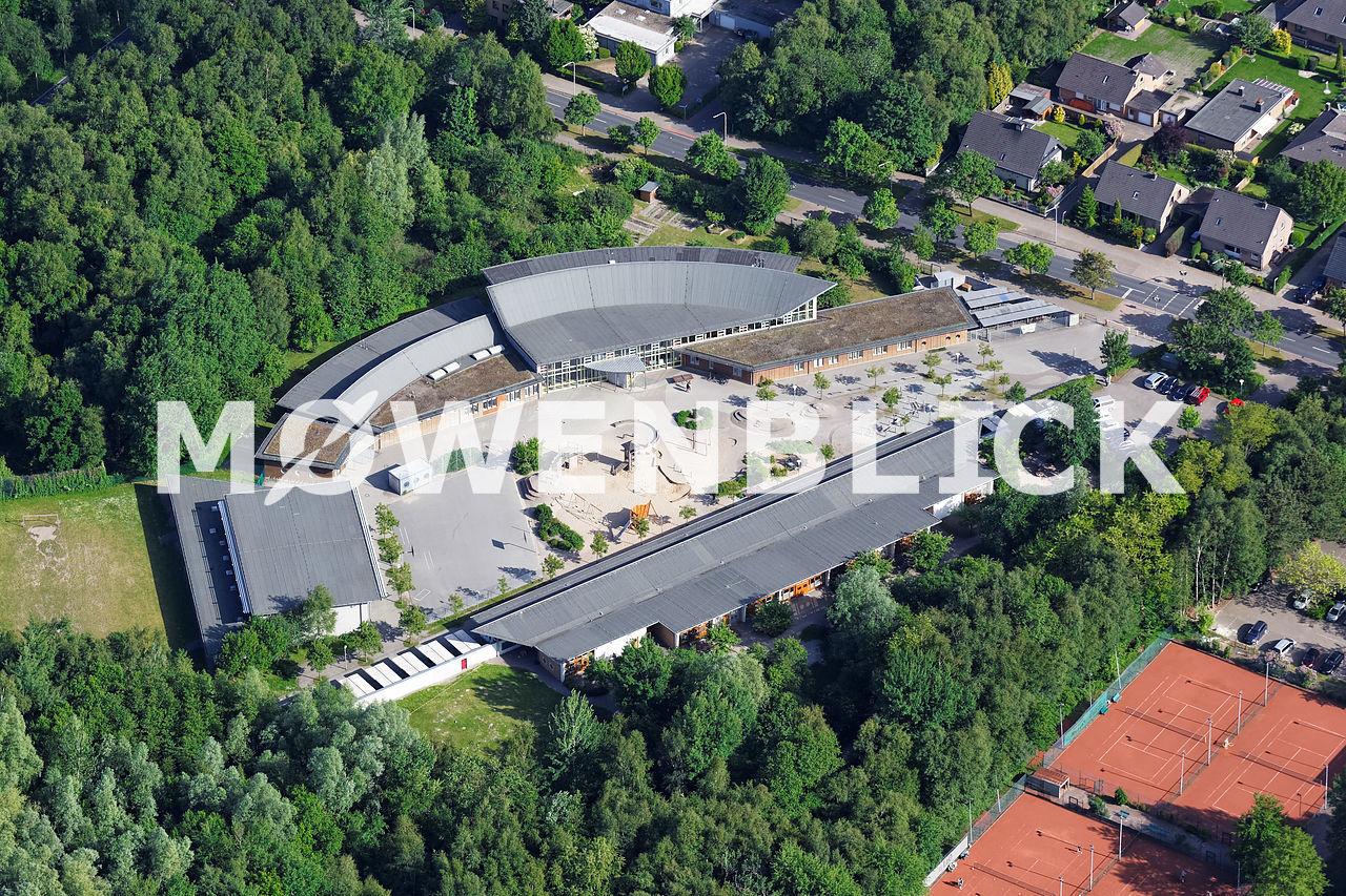 Kindertagesstätte Grundschule Klingenbergstraße Luftbild