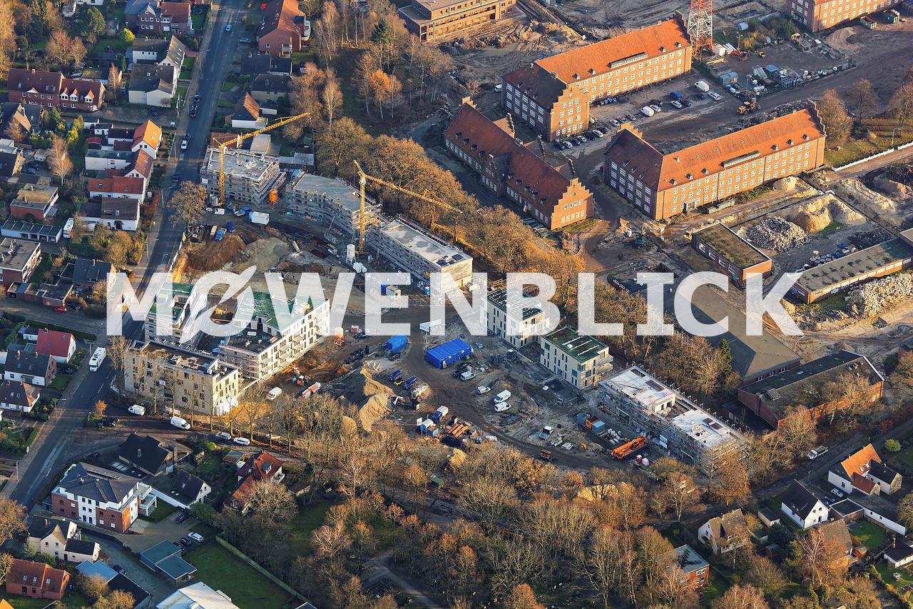 Donnerschwee Kaserne Hubschrauberlandeplatz Luftbild