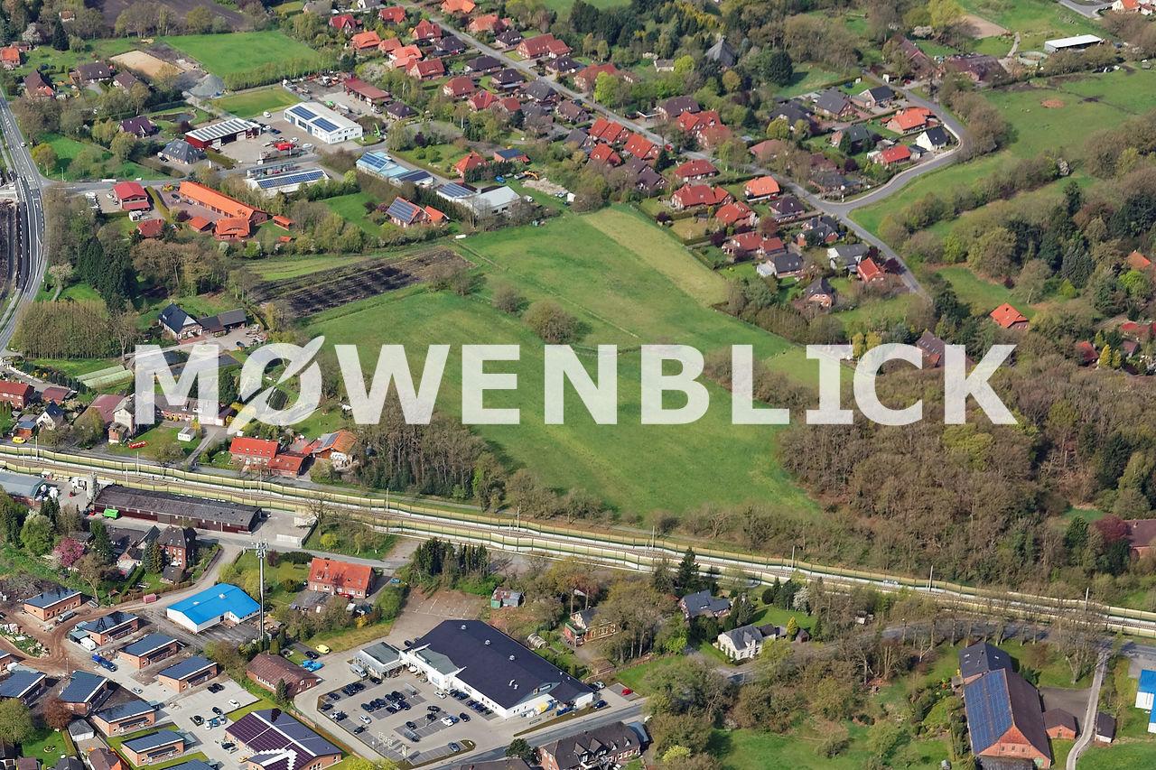 Gewerbestraße Luftbild