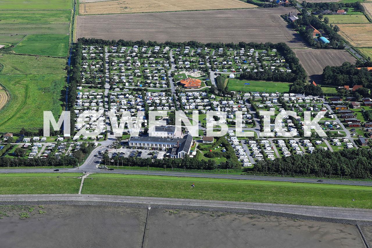 Nordsee-Camp Norddeich Luftbild