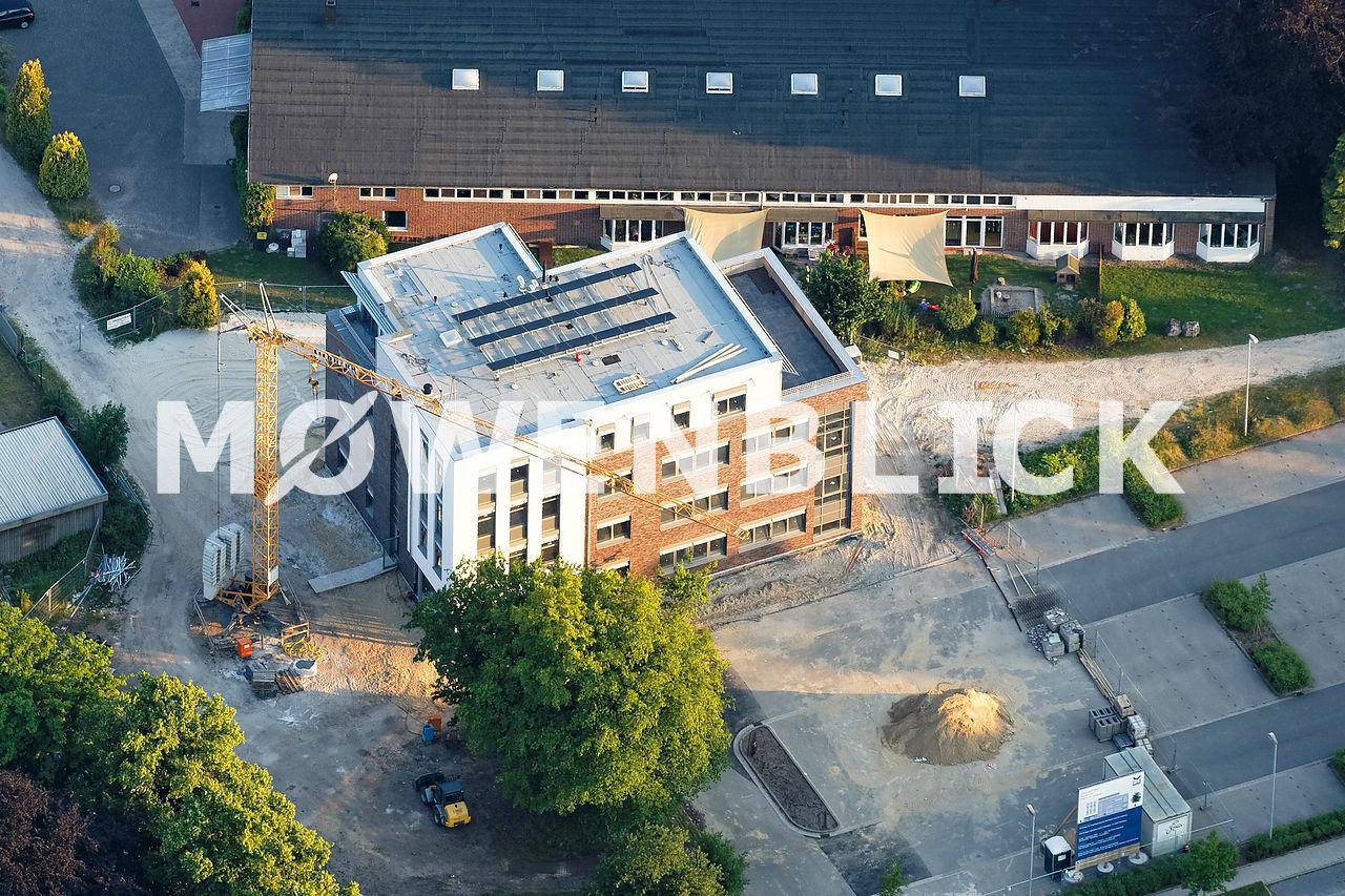 Neubau IFE Eriksen Luftbild