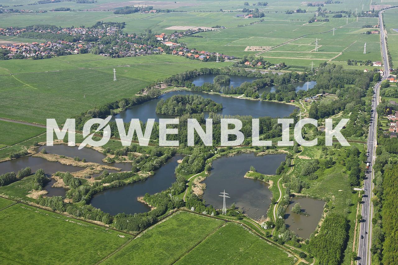 Seenpark Luftbild