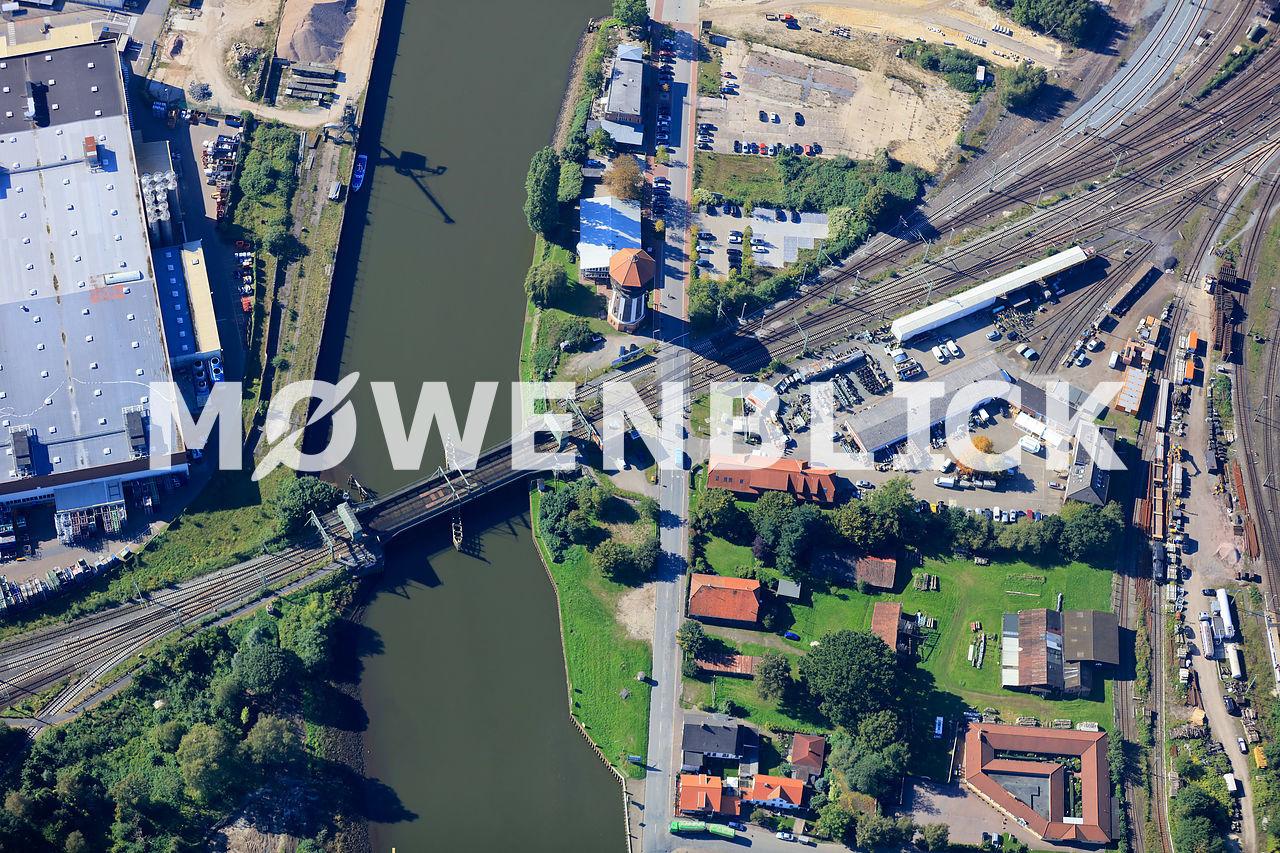 Alter Stadthafen Luftbild