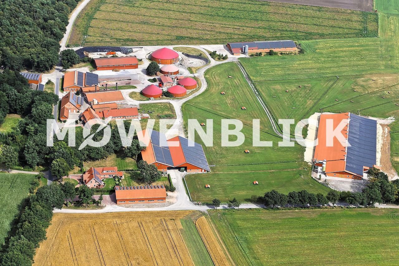 Bakenhus Luftbild