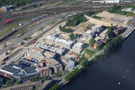 Stau Alter Stadthafen