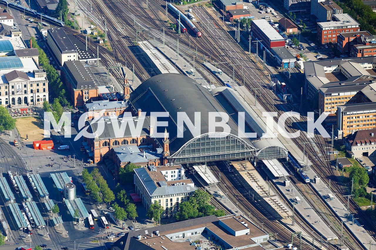 Bahnhof Luftbild