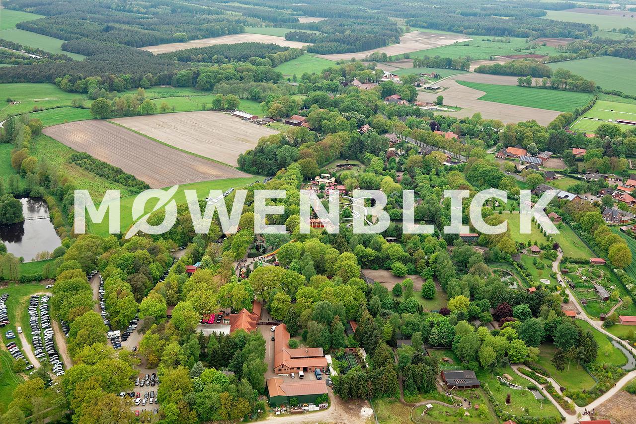 Freizeitpark Thüle Luftbild
