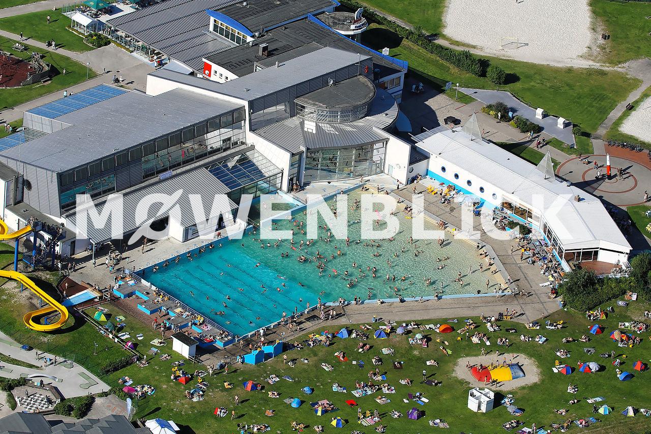 Meerwasserwellenbad Luftbild