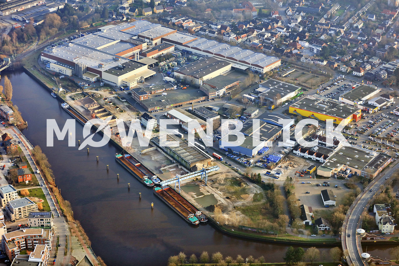 Südseite Stadthafen Luftbild