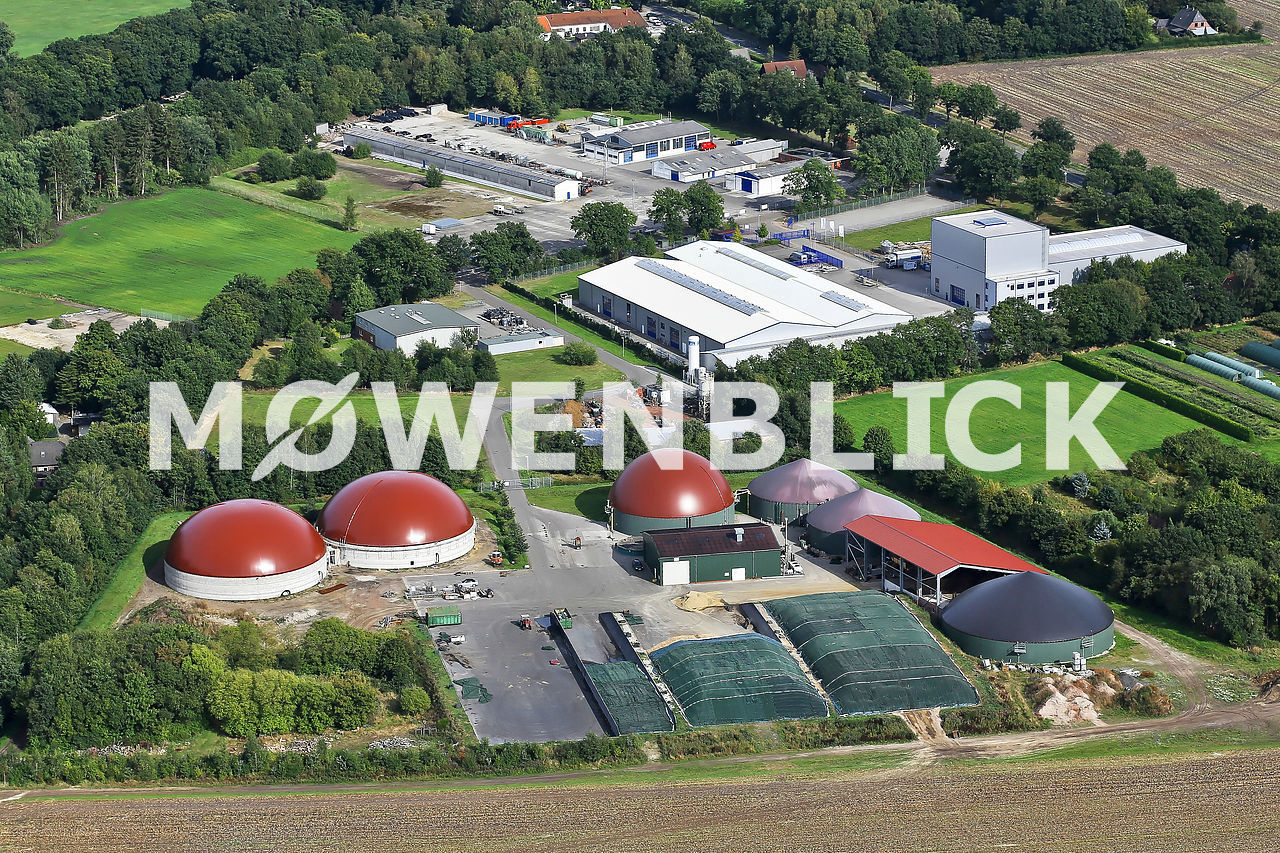 Ocholterfeld Luftbild