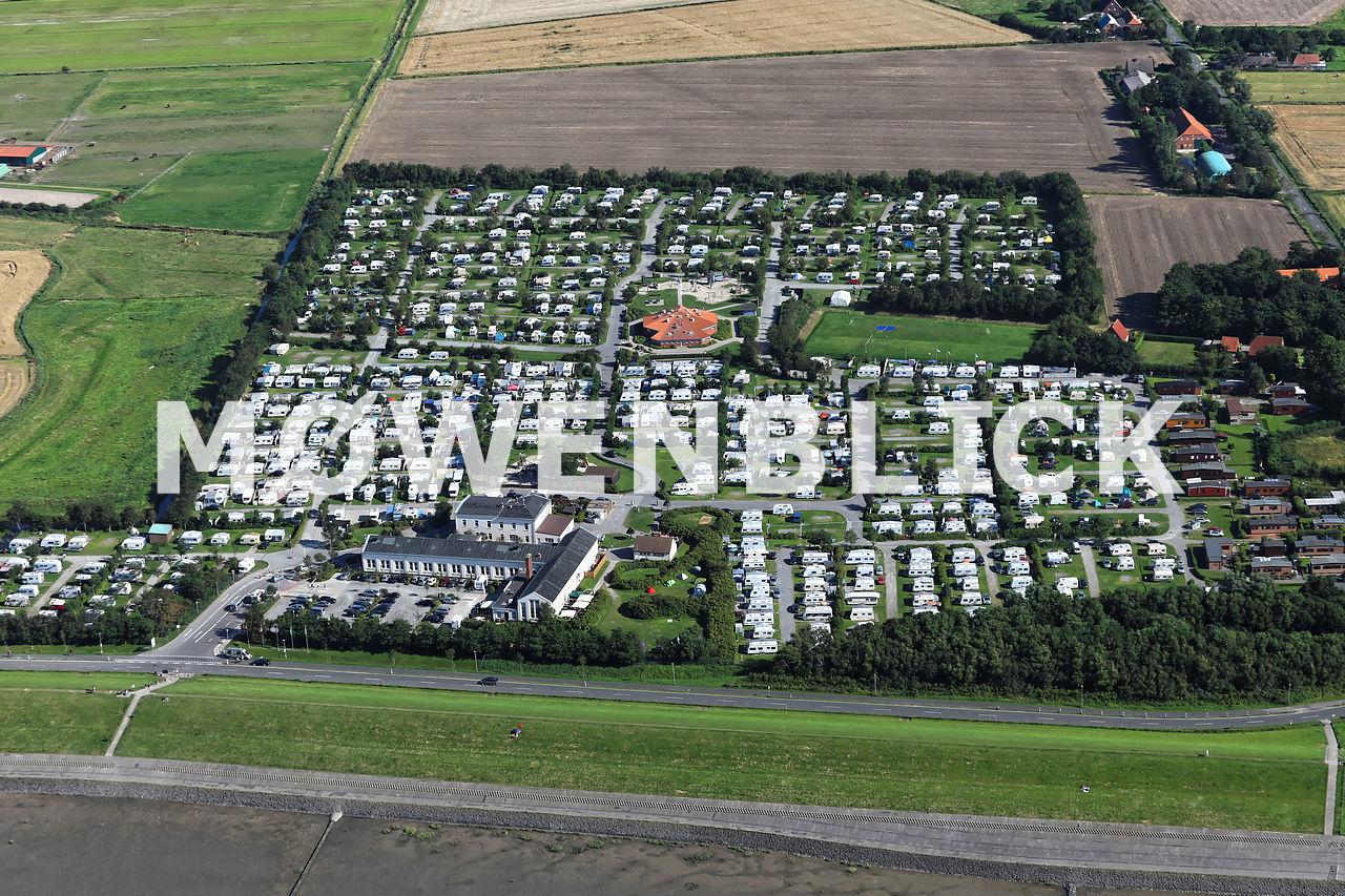Nordsee-Camp Luftbild