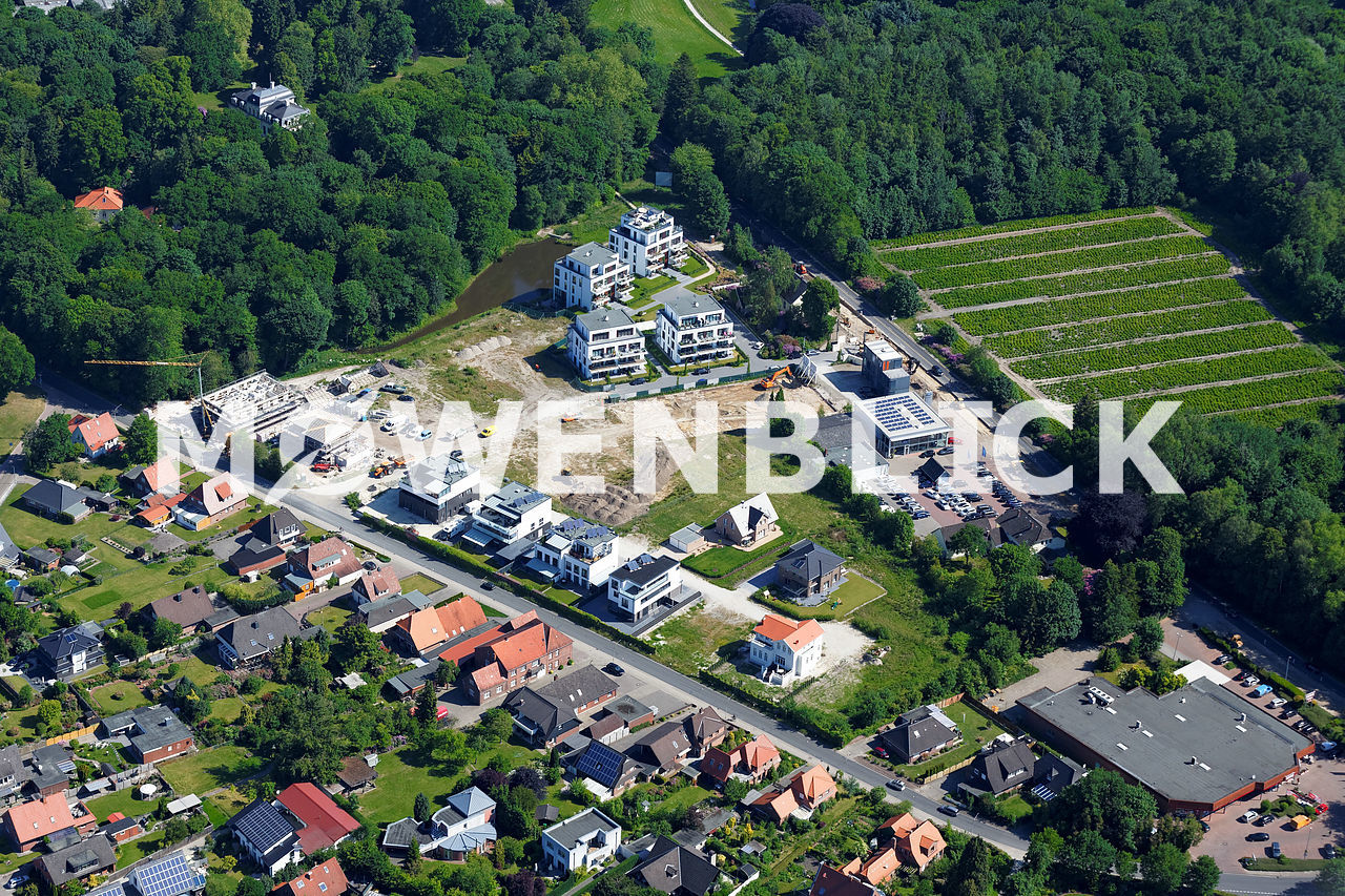 Alte Schloßgärtnerei Luftbild