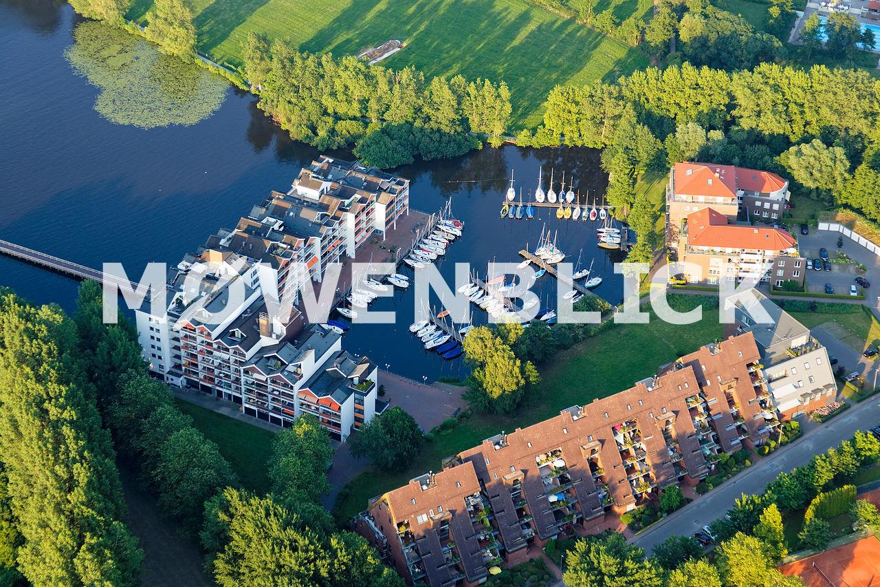 Yachthafen Eyhausen Luftbild