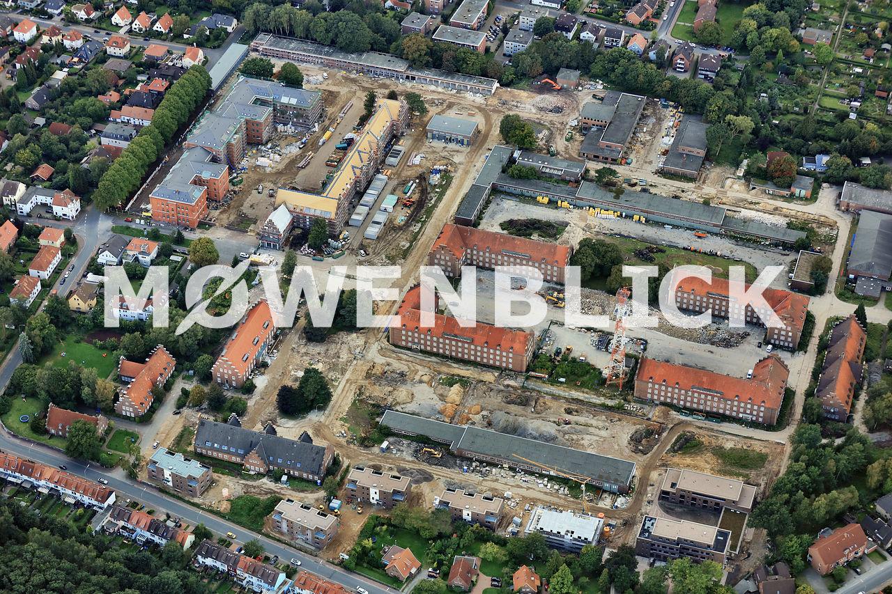 Kaserne Donnerschwee Luftbild