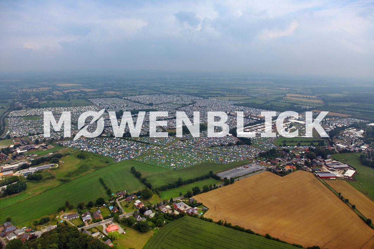 Wacken 2014 Luftbild