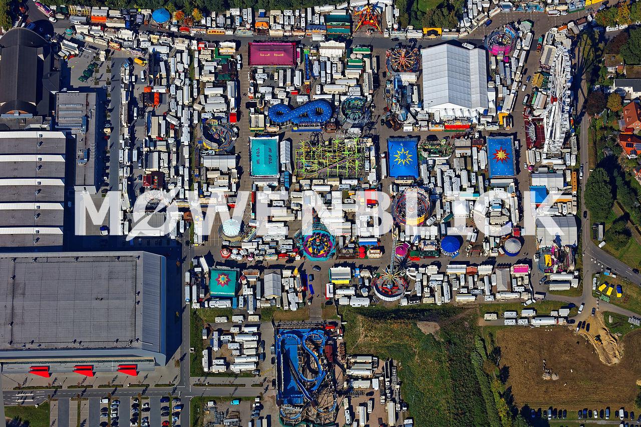 Oldenburger Kramermarkt Luftbild