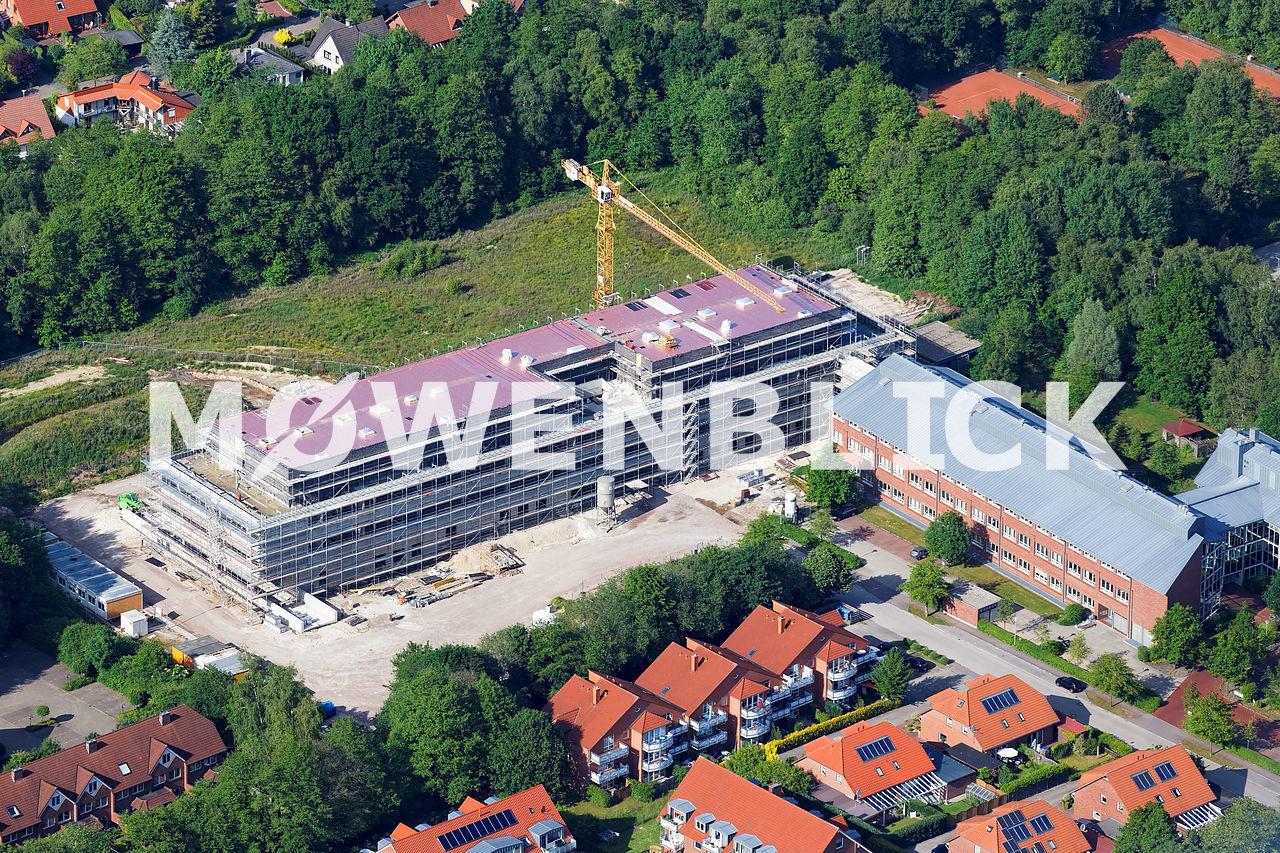 Laves Neubau Luftbild