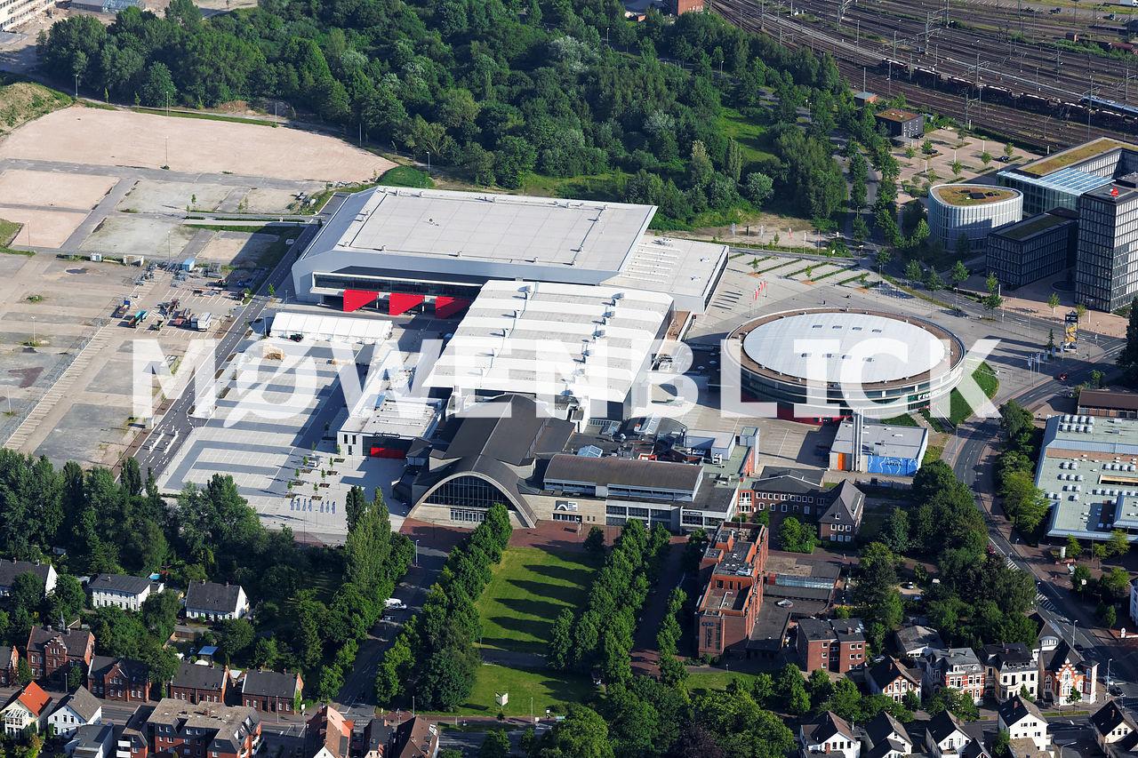 Weser Ems Halle Luftbild