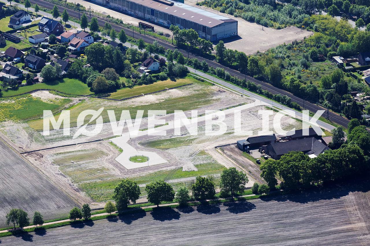 Baugebiet Langenberg Luftbild