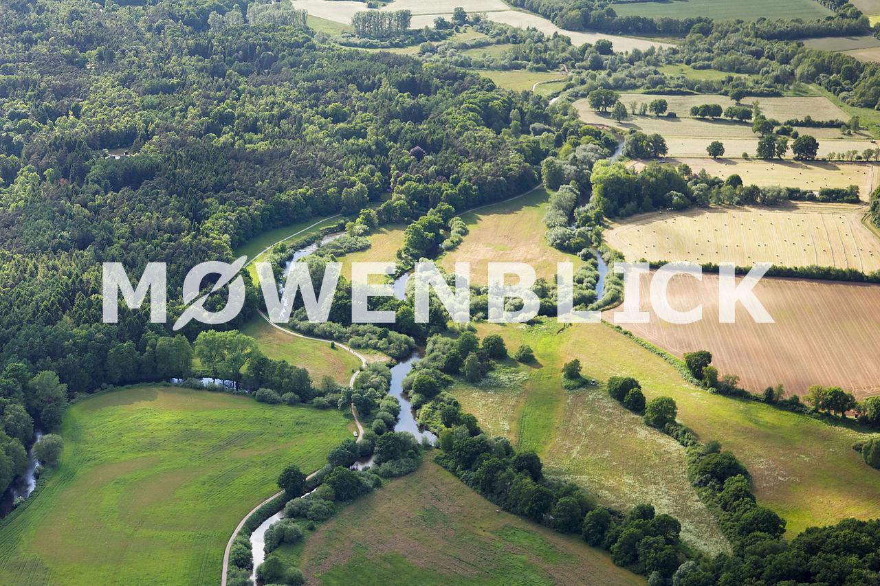 Hunteschleife Luftbild