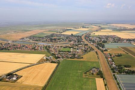 Luftaufnahme Friedrichskoog