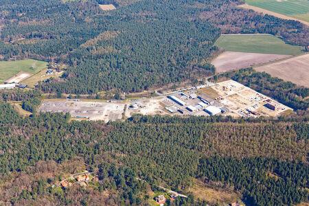 Luftaufnahme Rückbau Bohrsammelplatz Speicher