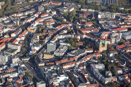 Luftaufnahme Stadt Osnabrück