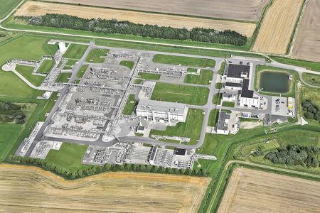 Luftaufnahme Dornum
