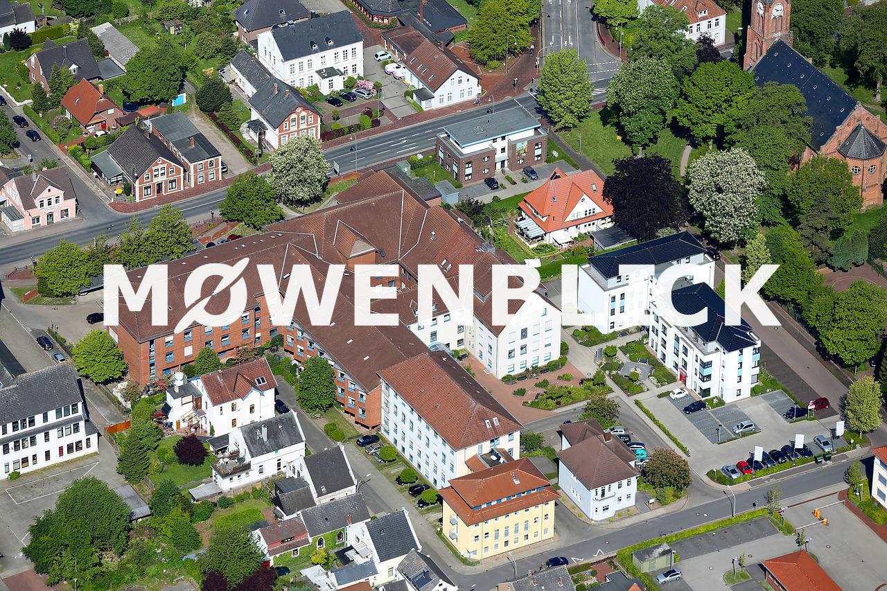 Sankt Bernhard Hospital Luftbild