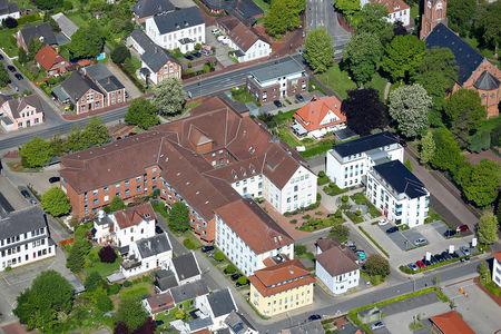 Luftaufnahme Sankt Bernhard Hospital