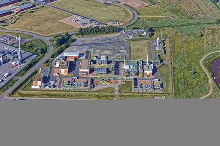 Luftaufnahme Friedeburg